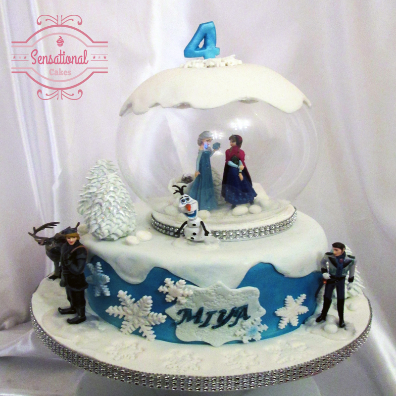 Walt Disney Frozen Birthday cake - Sensational Cakes