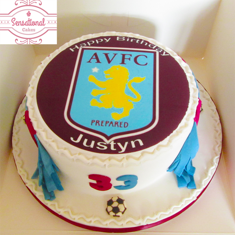 Aston Villa Cake Images
