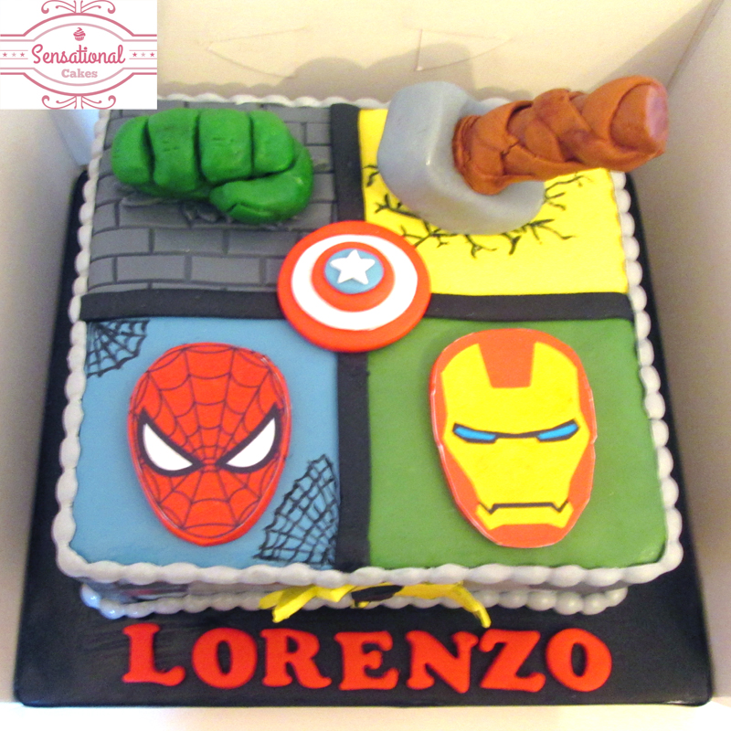 Avengers Sheet Cake Ideas
