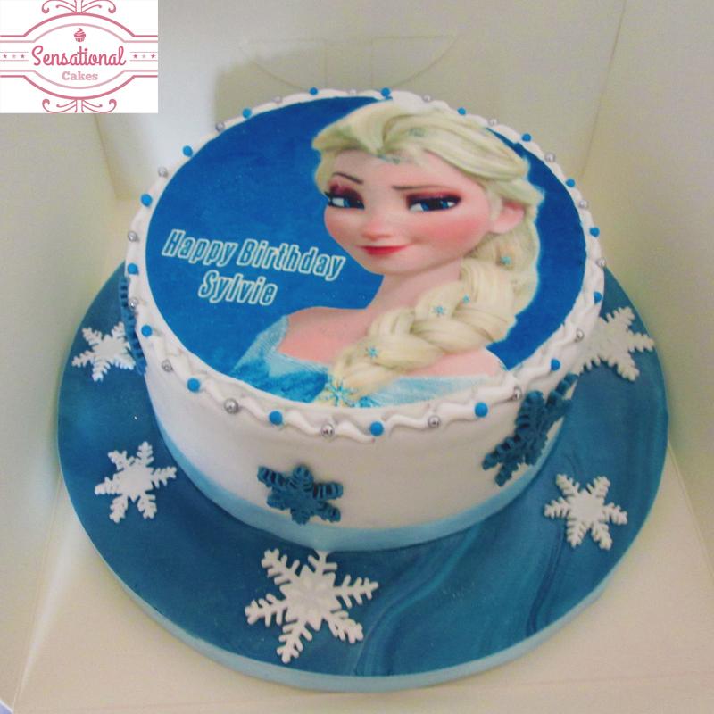 Walt Disney Elsa Frozen Cake