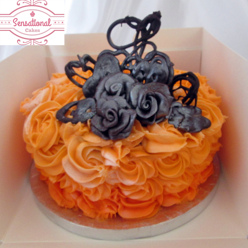 chocolate cake orange flavored frosting birthday cakes