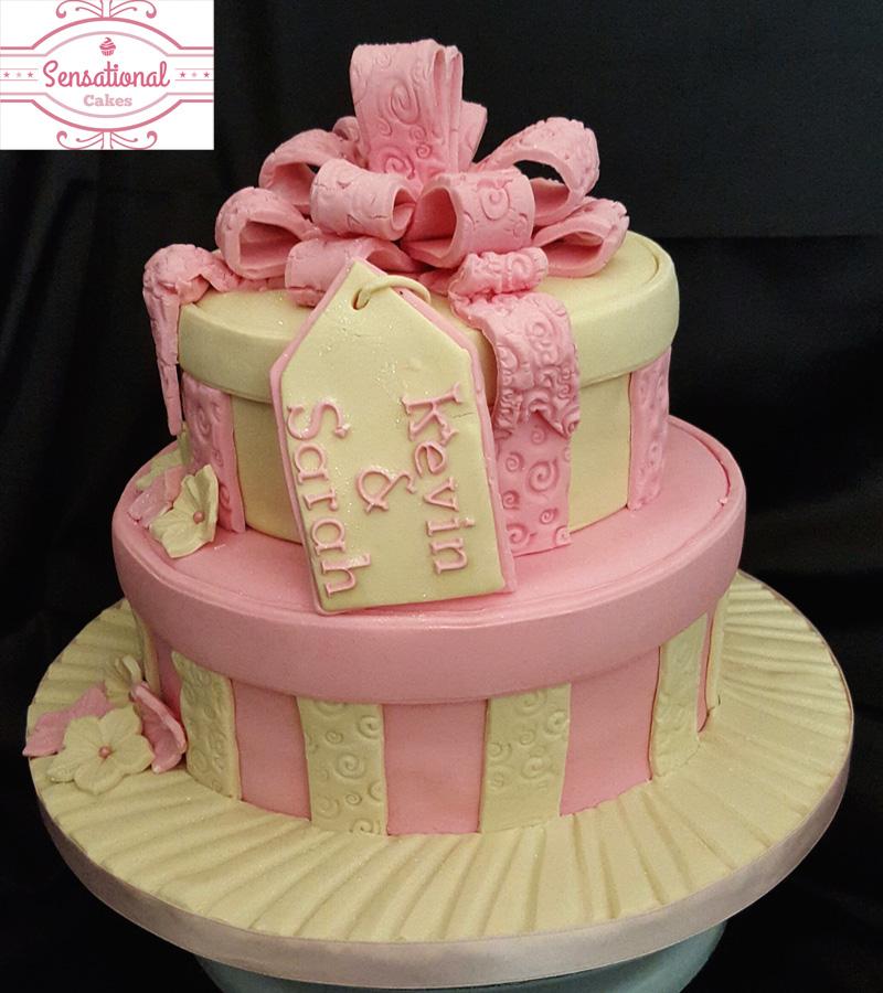 Gift box cakes sensational cakes gift box cakes negle Images
