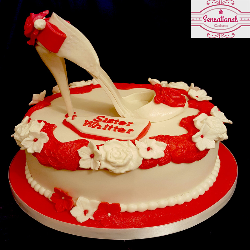 Shoe Birthday Cake Sensational Cakes
