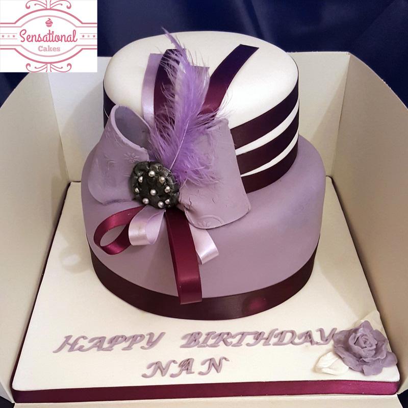 Ladies Birthday Cake Sensational Cakes