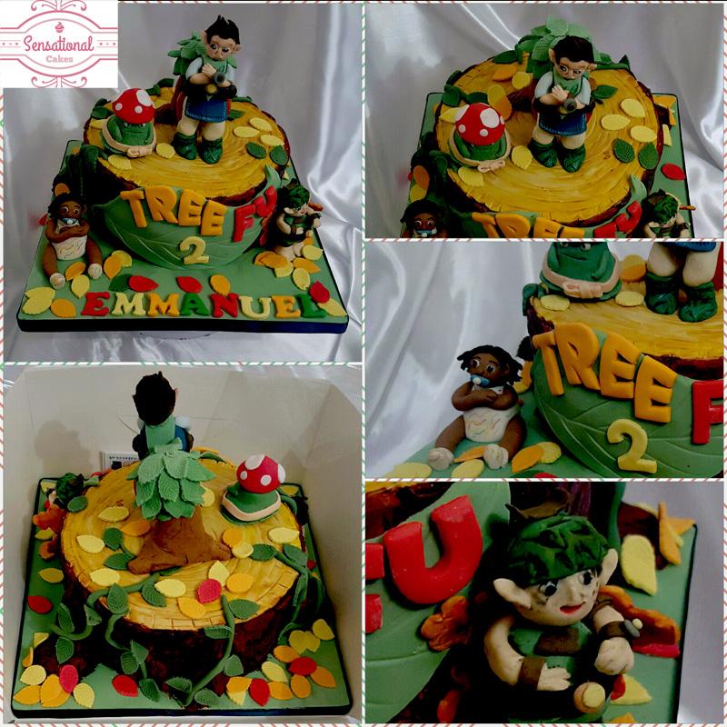 Tree Fu Tom Cake Sensational Cakes