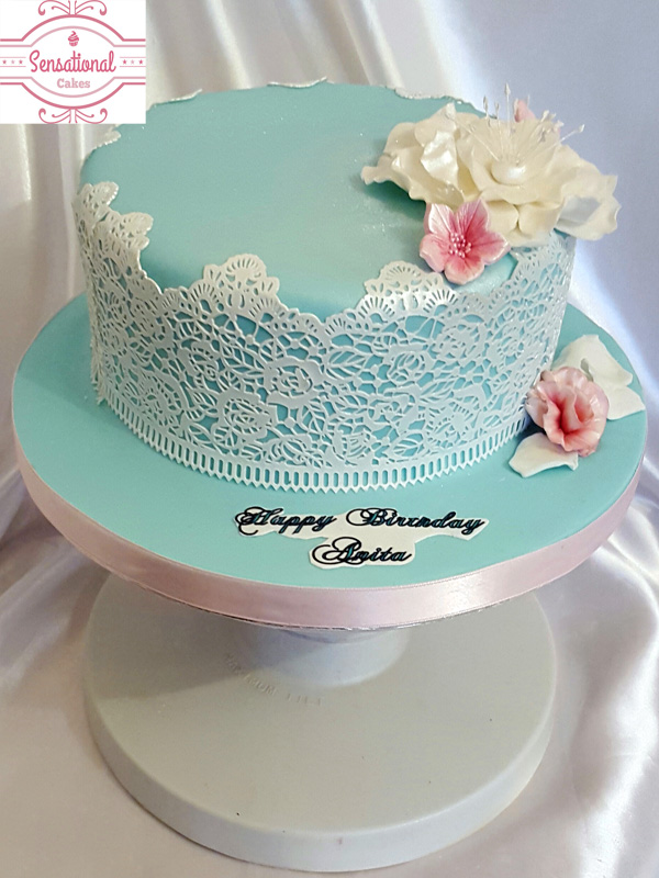 ladies Birthday cake - Sensational Cakes