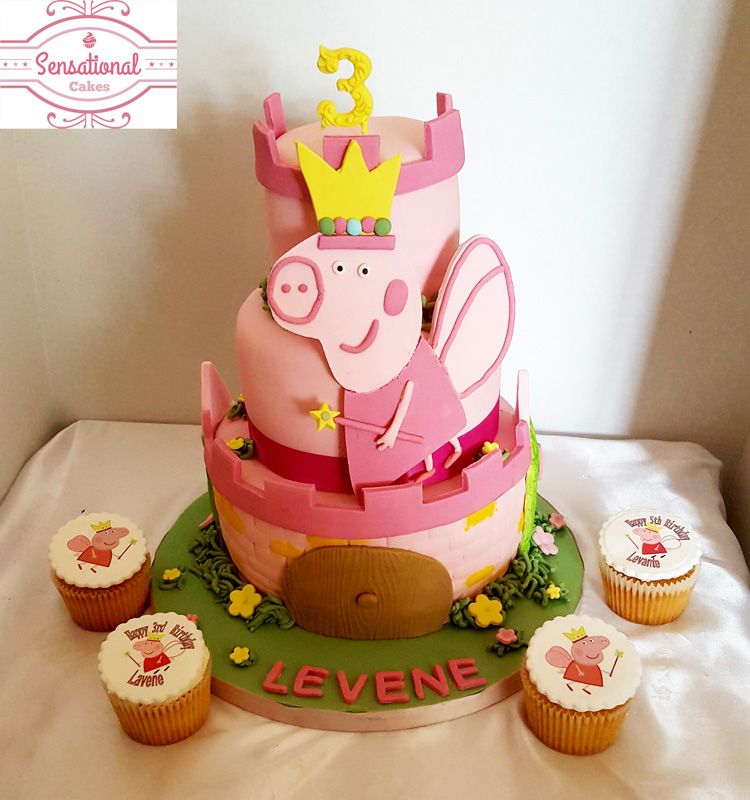 How To Decorate A Peppa Pig Cake