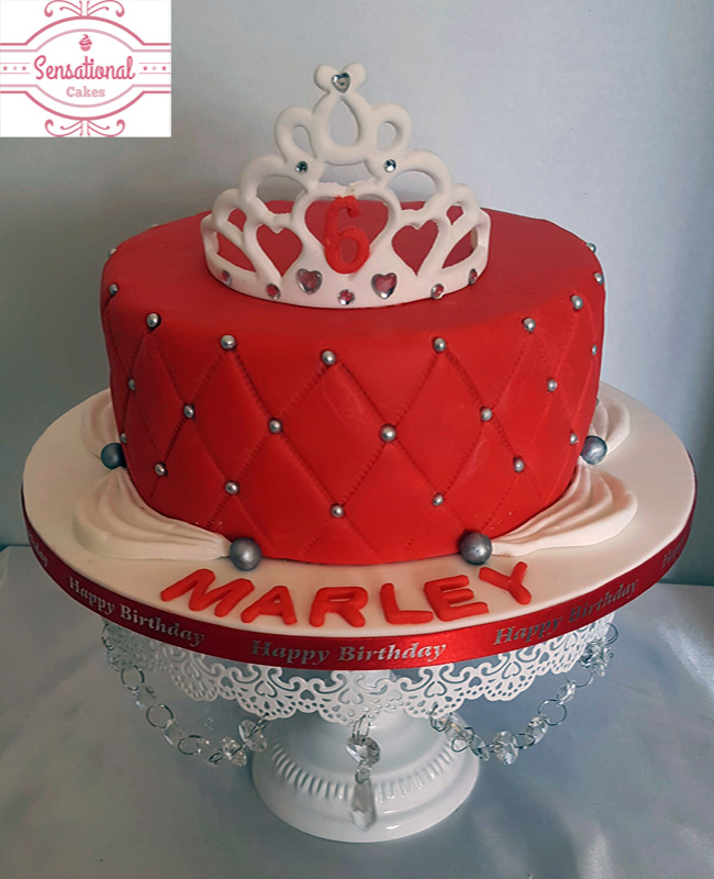 Tiara Birthday Cake Sensational Cakes