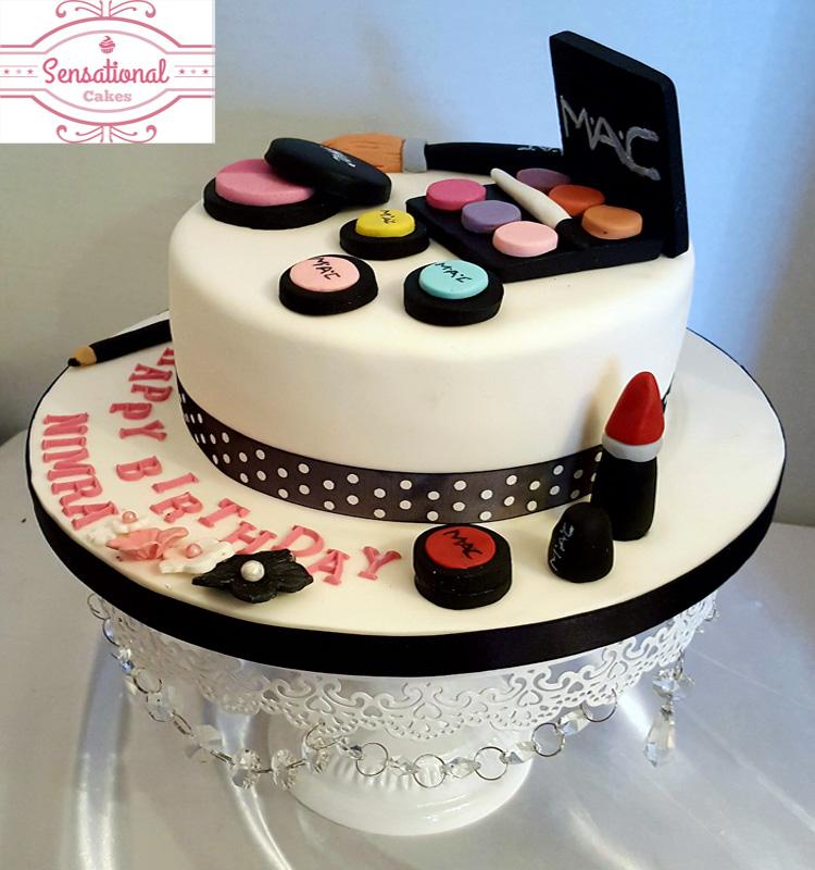 Makeup Cake Pictures : MAC makeup cake - Sensational Cakes