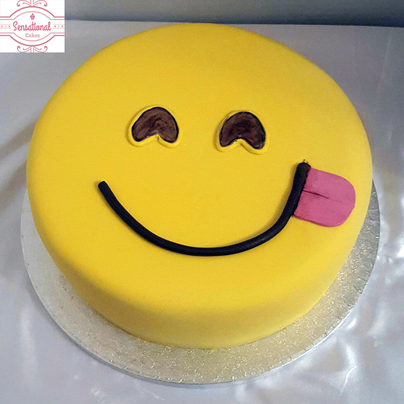 Emoji Birthday Cake Sensational Cakes