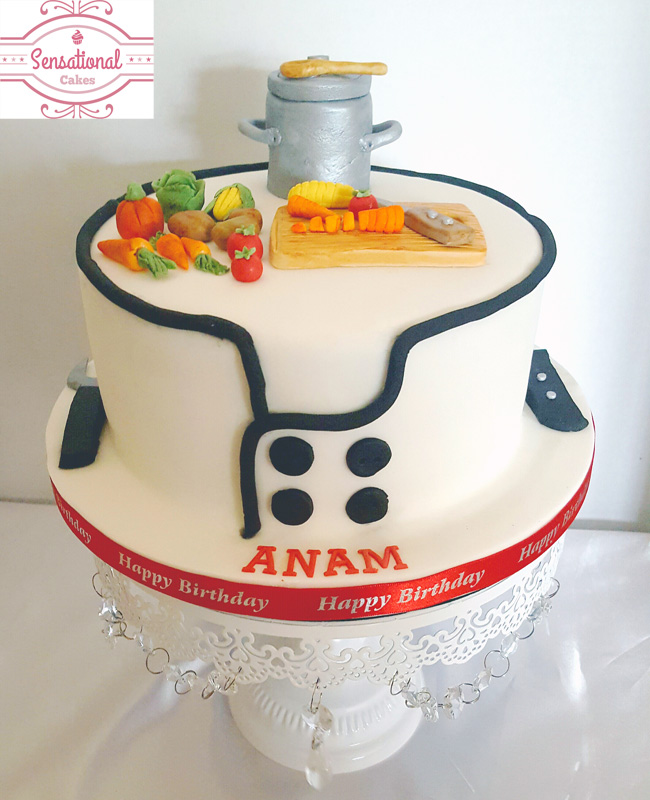 chef birthday cake - Sensational Cakes