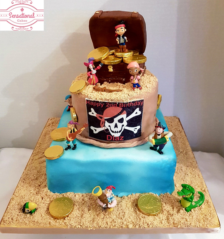 Images Pirate Birthday Cake : Novelty cakes Archives - Page 2 of 19 - Sensational Cakes