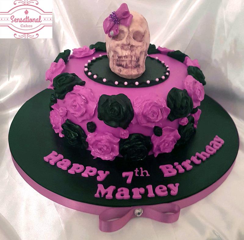 Skull Cake Sensational Cakes