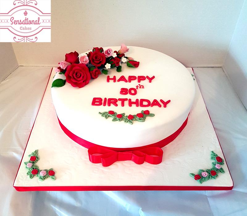 80th Birthday Cake 80th Birthday Cake Ideas For Birthday Cake