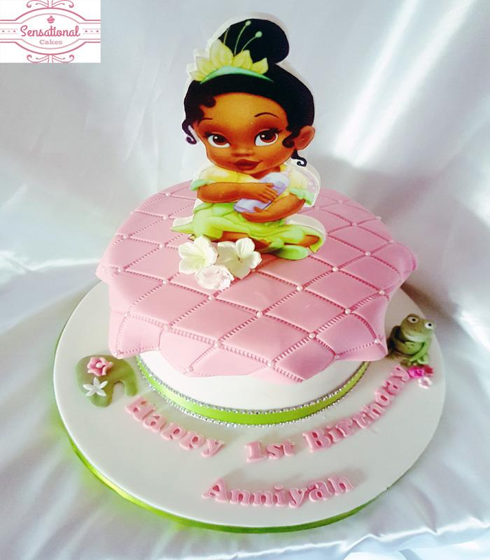 Princess And The Frog Birthday Cake Sensational Cakes
