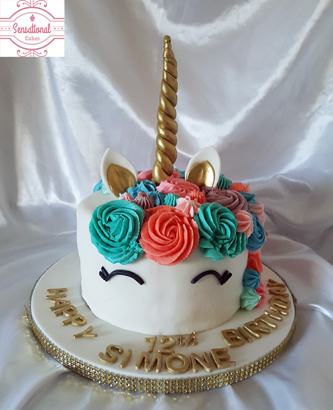 Unicorn Birthday Cake Uk